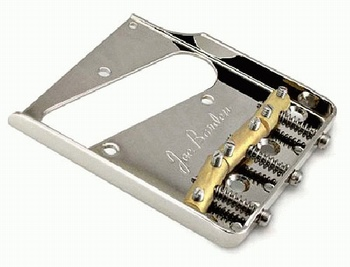 Joe Barden Custom Vintage style bridge for Tele®. Nickel 2-3/16